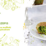 Zielone muffinki ze szpinakiem